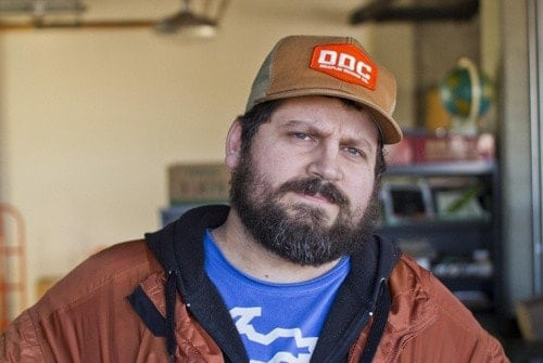 A picture of Aaron James Draplin