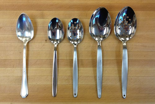 Chris has more spoons than this.