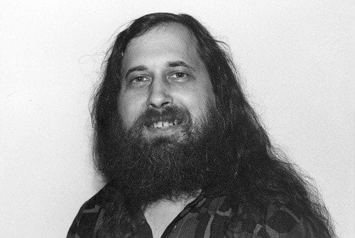 A picture of Richard Stallman